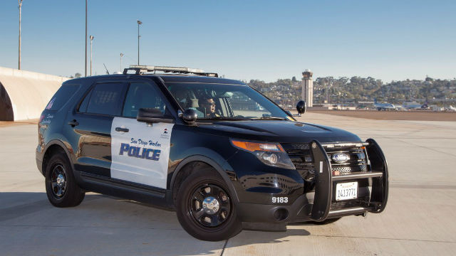 Harbor Police cruiser