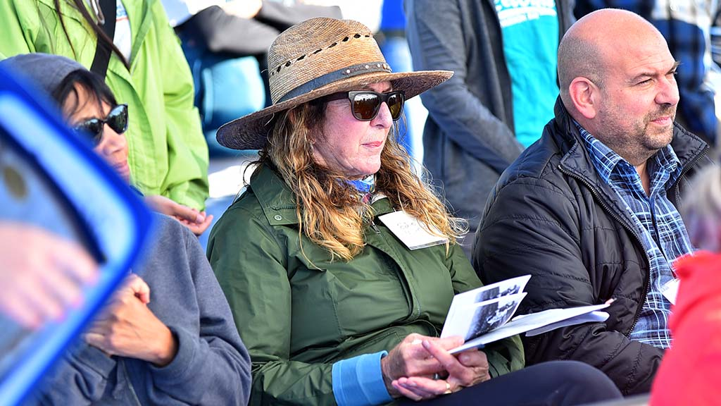 Edie Munk, daughter of Walter Munk, the renowned oceanographer, supports a new trailer and expansion of the Mission Bay marsh reserve.