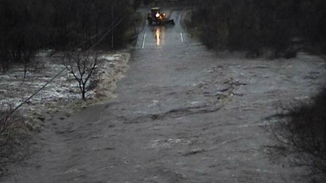 Sandia Creek flooding
