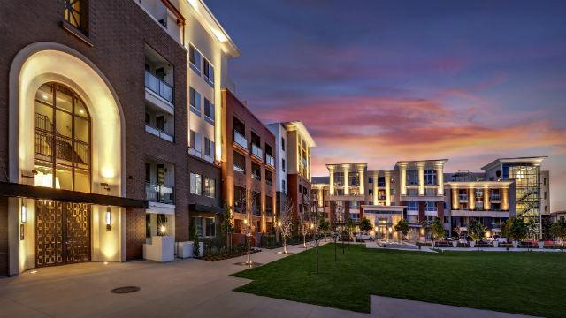 West Park apartments at Civita