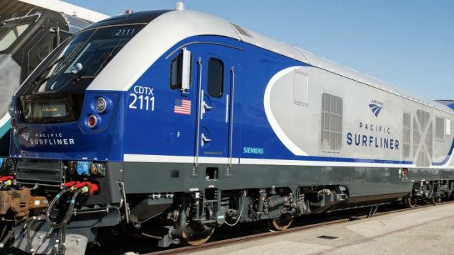 New 125 mph Siemens Clean Diesel Electric locomotive