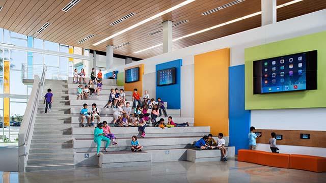 Design 39 Campus setting.