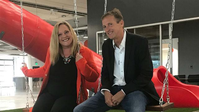 Silvia Mah and Mike Krenn