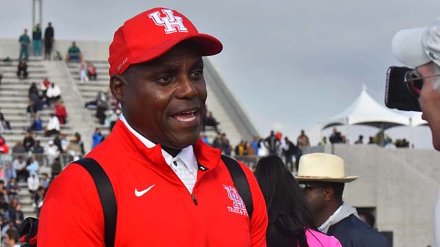 University of Houston assistant track coach Carl Lewis offers his opinions on the sport of track and field.