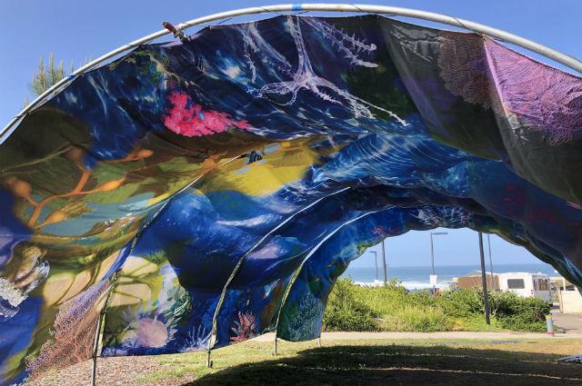 Ocean Tunnel immersive artwork