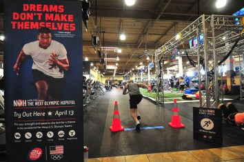 Kyle Destackelberg of Irvine has trained to be an athlete his entire life.