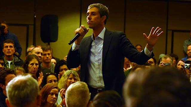 """Beto O'Rourke said Congress should """"demand we no longer sell AR-15s or weapons of war in our communities."""" \"""