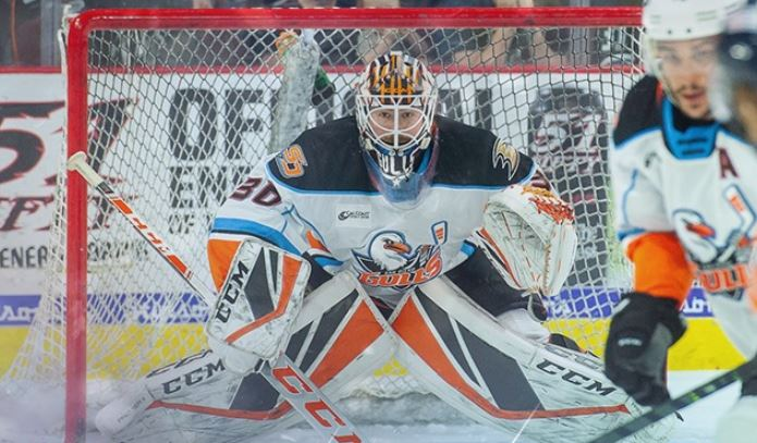 San Diego Gulls action on Saturday night
