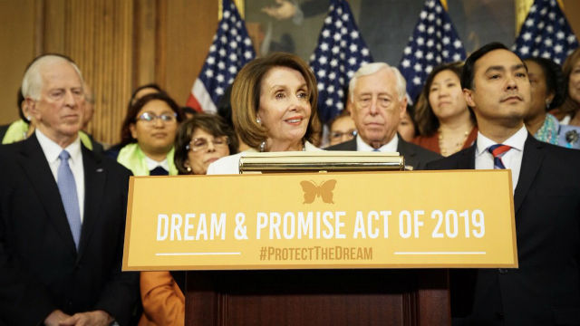 Nancy Pelosi and other House leaders