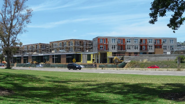 New apartments in Bay Park