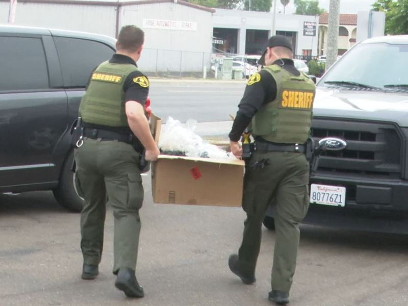 Deputies carry out marijuan