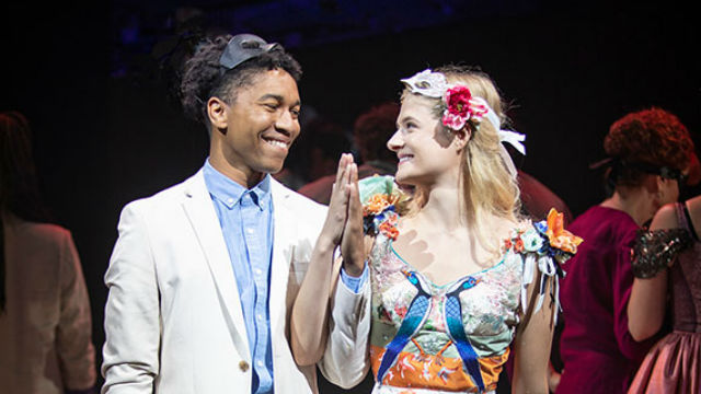 Aaron Clifton Moten and Louisa Jacobson as Romeo and Juliet