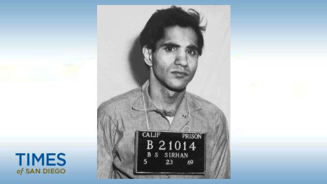 Sirhan Sirhan in prison in 1969