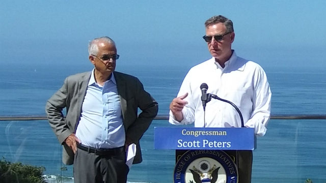 Rep. Scott Peters announces the Super Pollutants Act