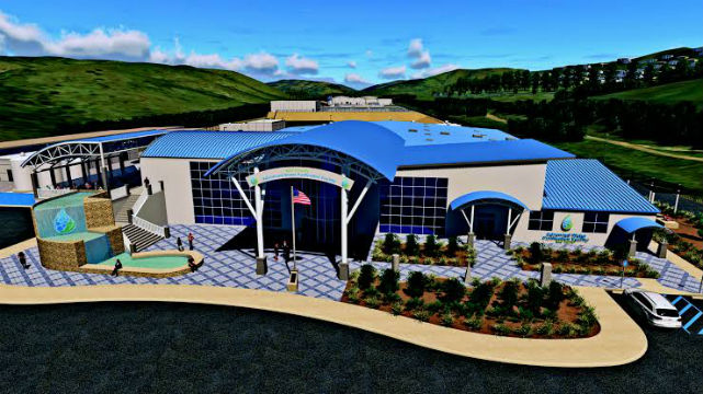 Rendering of the East County Advanced Water Purification facility