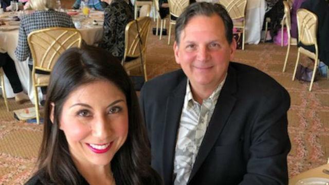 Bob Stefanko and Mia Park
