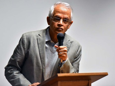 Non-Catholic Veerabhadran Ramanathan said he was worried he wouldn't be allowed at the Pontifical Academy of Science