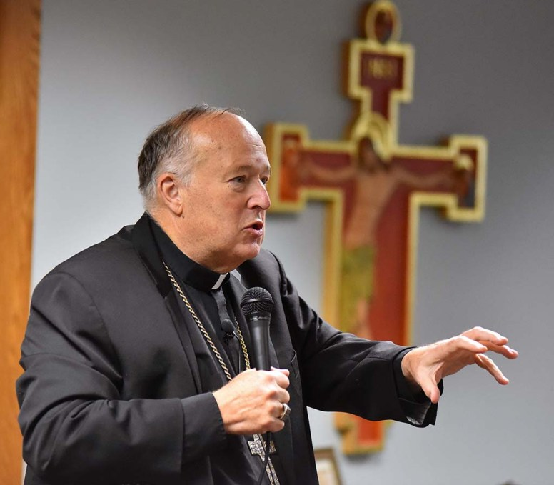 Bishop Robert McElroy recently attended a three-week Vatican synod on Amazon issues.