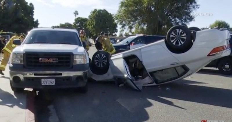 South Bay car crash
