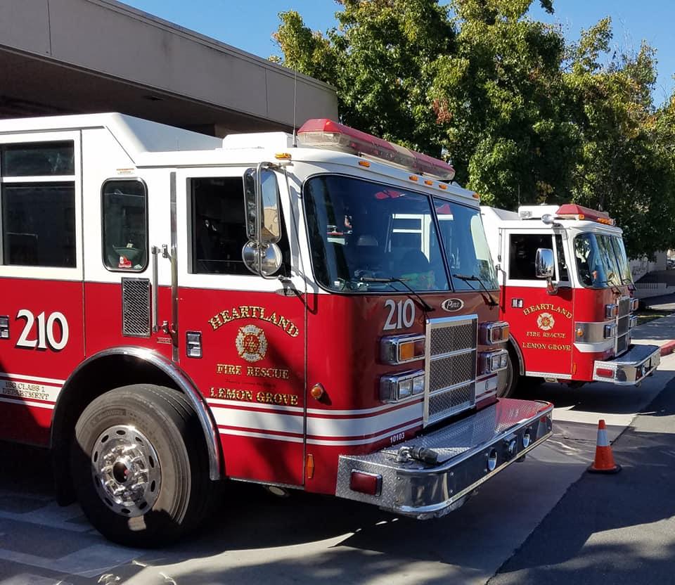 Lemon Grove Fire Station.