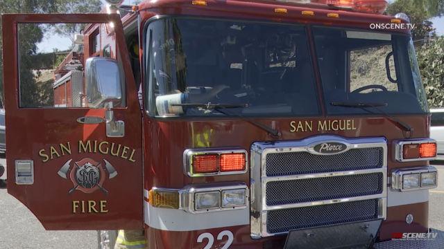 San Miguel Fire & Rescue Department truck