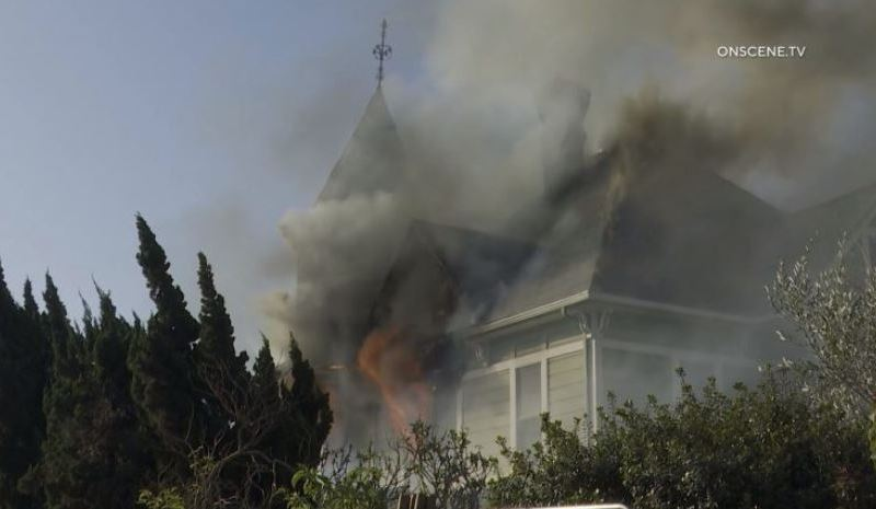 Hancil Cordrey house burns