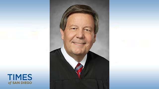 San Diego Superior Court Judge Eddie C. Sturgeon