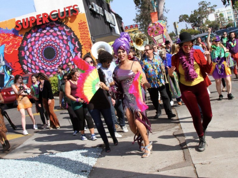 Fat Tuesday San Diego Street festivals