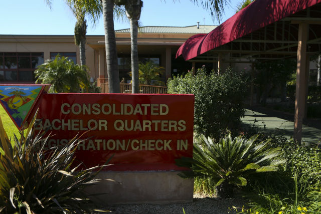 Consolidated bachelor quarters at Miramar