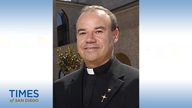 The Rev. Ramón Bejarano, a priest of the diocese of Stockton, will be consecrated as a San Diego auxiliary bishop April 21.