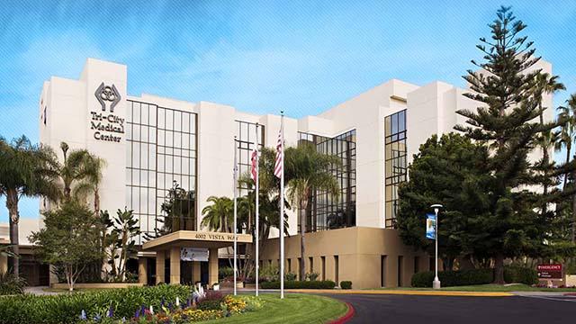 Tri-City Medical Center in Oceanside.
