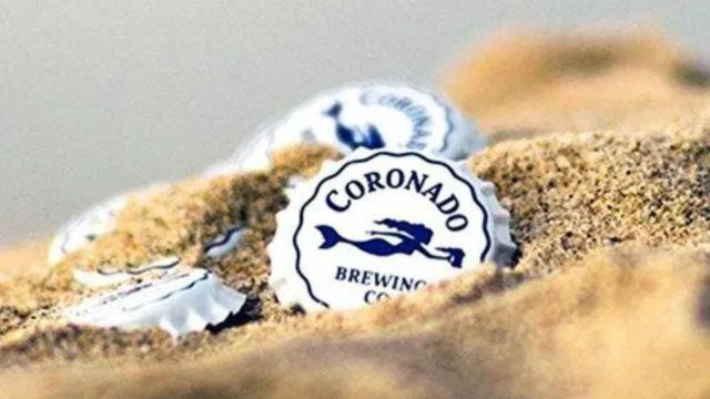 Coronado Brewing bottle caps