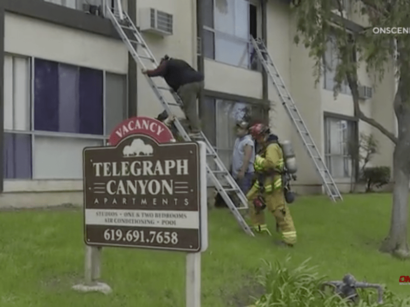 Chula Vista apartment fire