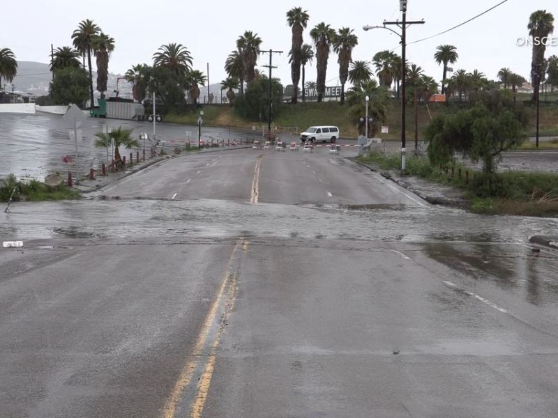 Flooding in Spring Valley