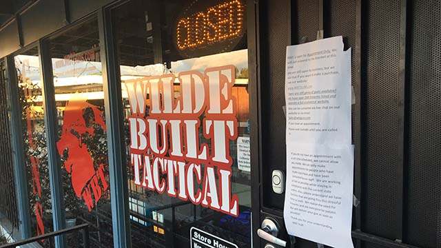 Sheriff Gore: San Diego Gun Stores May Remain Open, But with Restrictions