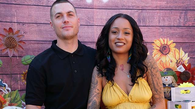 """Jacob """"Jake"""" Arnell with his fiancé Feleahcia Portis as pictured on GoFundMe.com."""