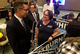 Stephen Whitburn led a field of five in San Diego's District 3 council race.