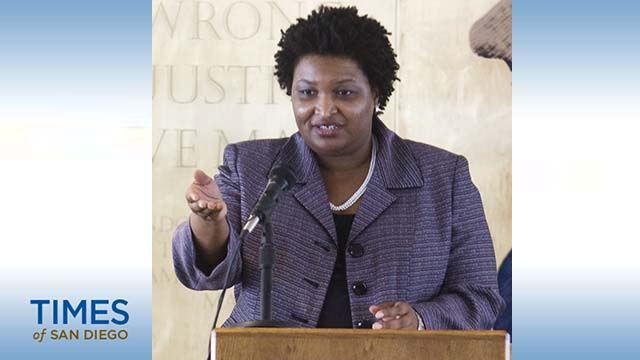 Former Georgia House Minority Leader Stacey Abrams.