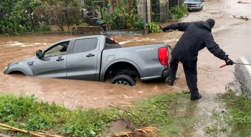 Flooding in Vista