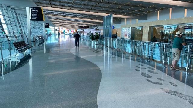 Empty San Diego International Airport