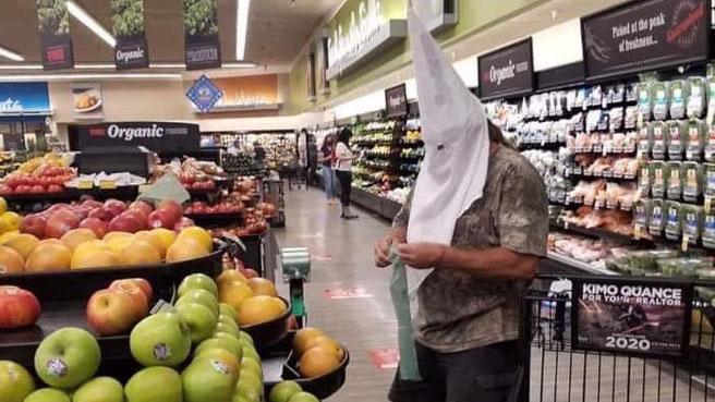 Sheriff Launches Criminal Probe of Man Wearing KKK Hood at Santee Vons - Times of San Diego