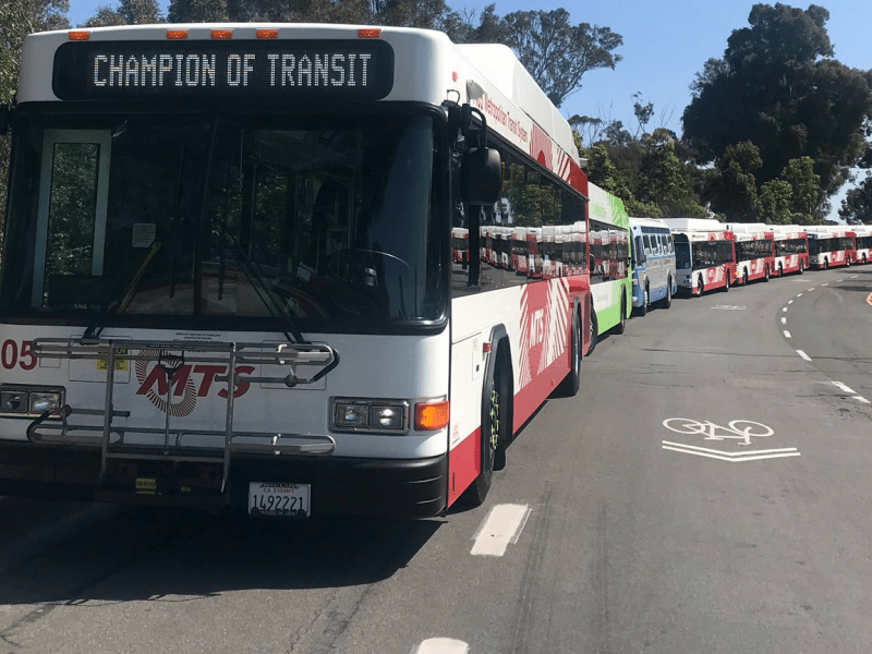 MTS bus processional