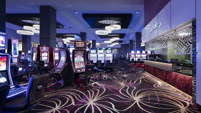 Slot machines at Viejas Casino & Resort