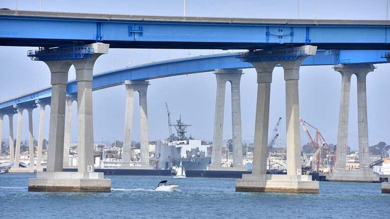 The San Diego-Coronado Bridge has seen dozens of suicides over the years.