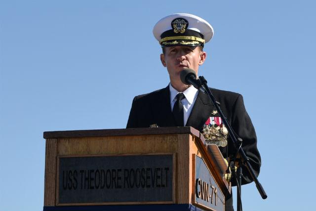 Capt. Brett Crozier