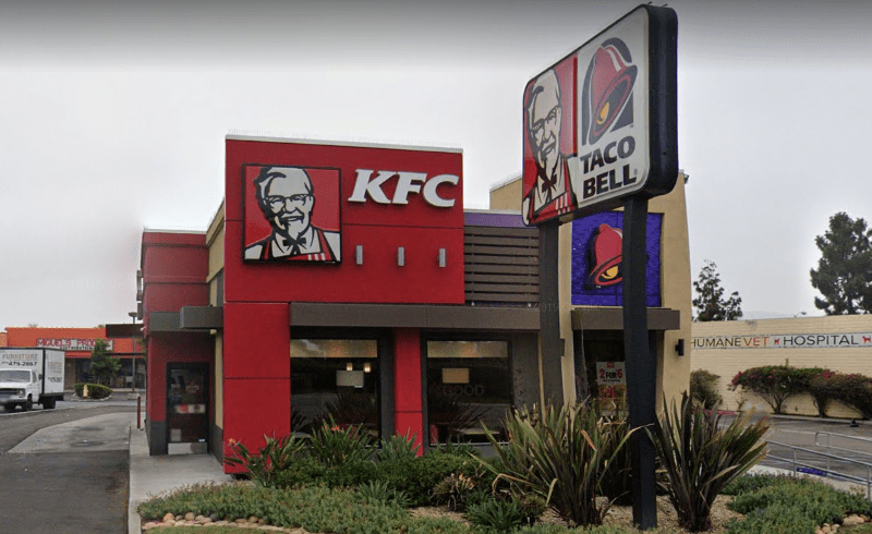 Spring Valley KFC was scene of natural gas line break and evacuation.