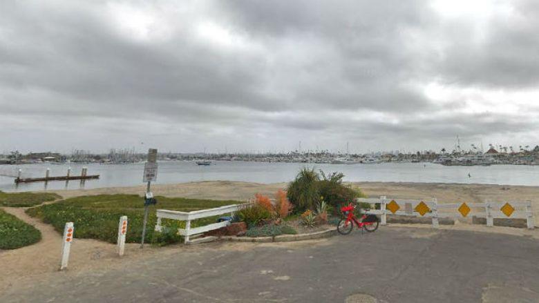 Kellog Beach on a grey day