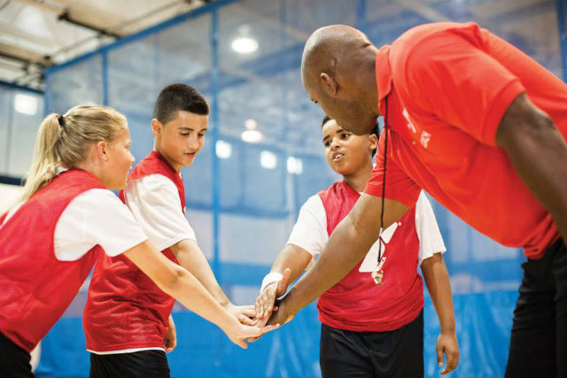 Youth sports instruction
