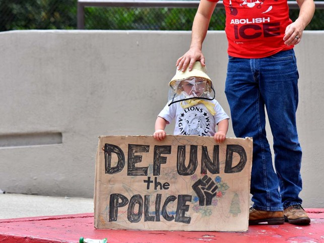 Justice 4 Leo': Protesters Assail Police Shooting in Downtown San ...