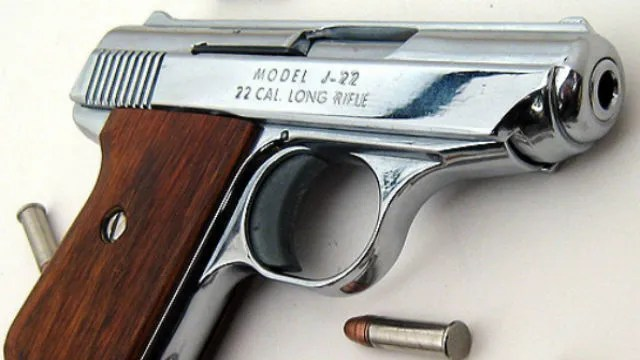 22-Caliber handgun